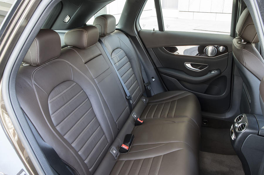 Mercedes-Benz GLC rear seats