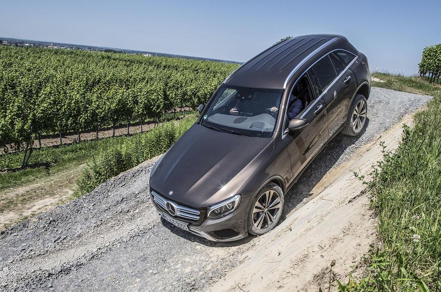 Mercedes-Benz GLC off-roading