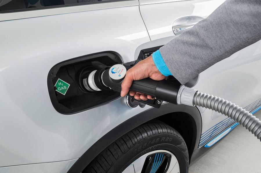 Mercedes GLC fuel cell