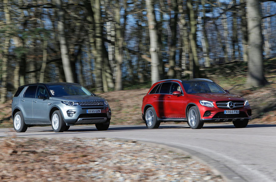 Land Rover Discovery Sport, Mercedes-Benz GLC