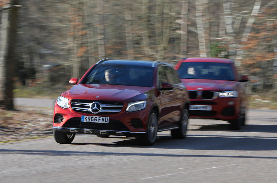 Mercedes-Benz GLC, BMW X3