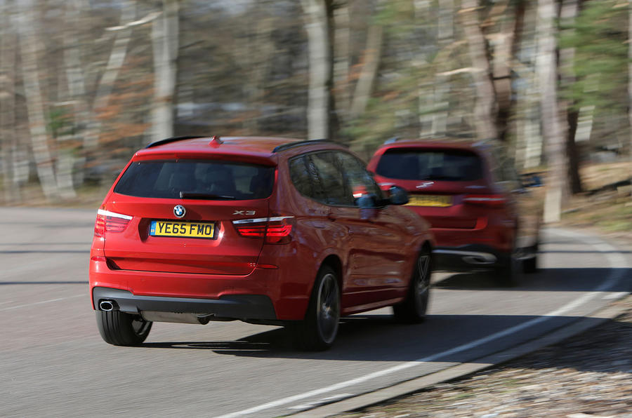 Mercedes-Benz GLC vs. Land Rover Discovery Sport and BMW ...