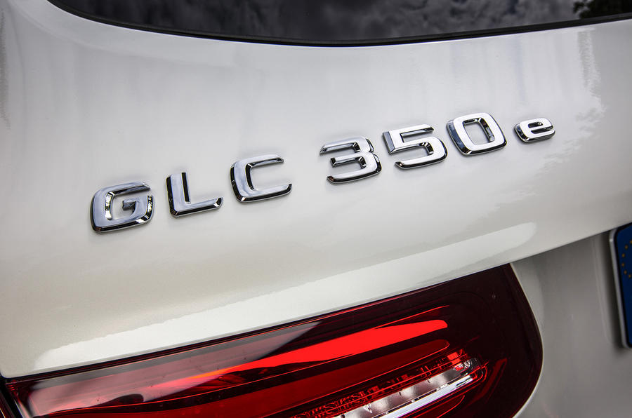Mercedes-Benz GLC 350d badging