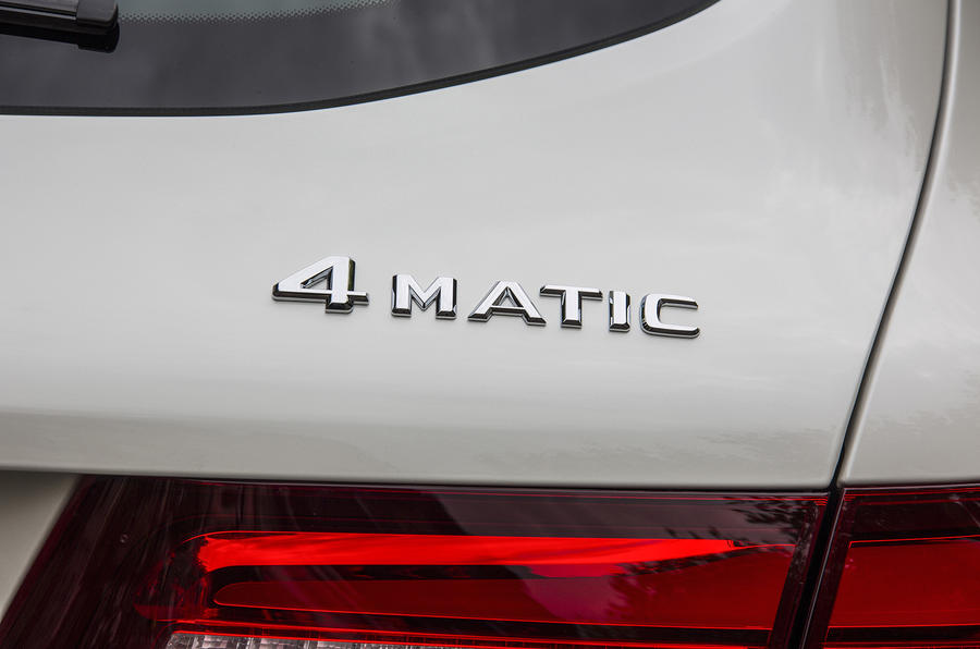 Mercedes-Benz 4Matic badging