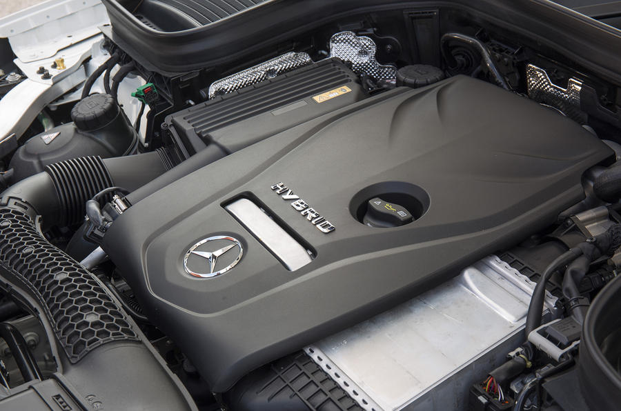 2.0-litre Mercedes-Benz GLC petrol engine