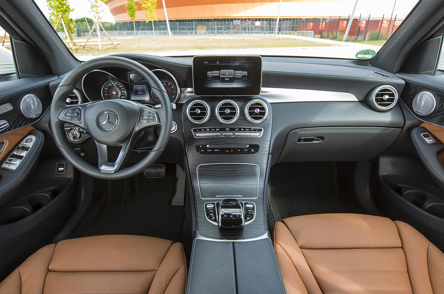 2015 Mercedes Benz Glc 350 E 4matic Review Review Autocar