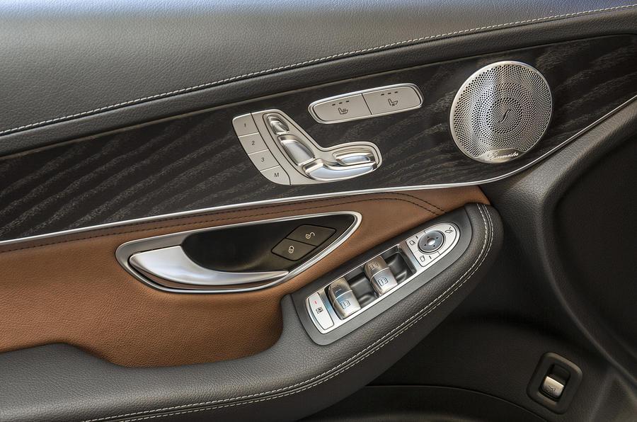 Mercedes-Benz GLC door card