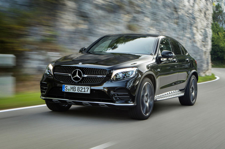 mercedes amg glc 43 coup revealed autocar. Black Bedroom Furniture Sets. Home Design Ideas