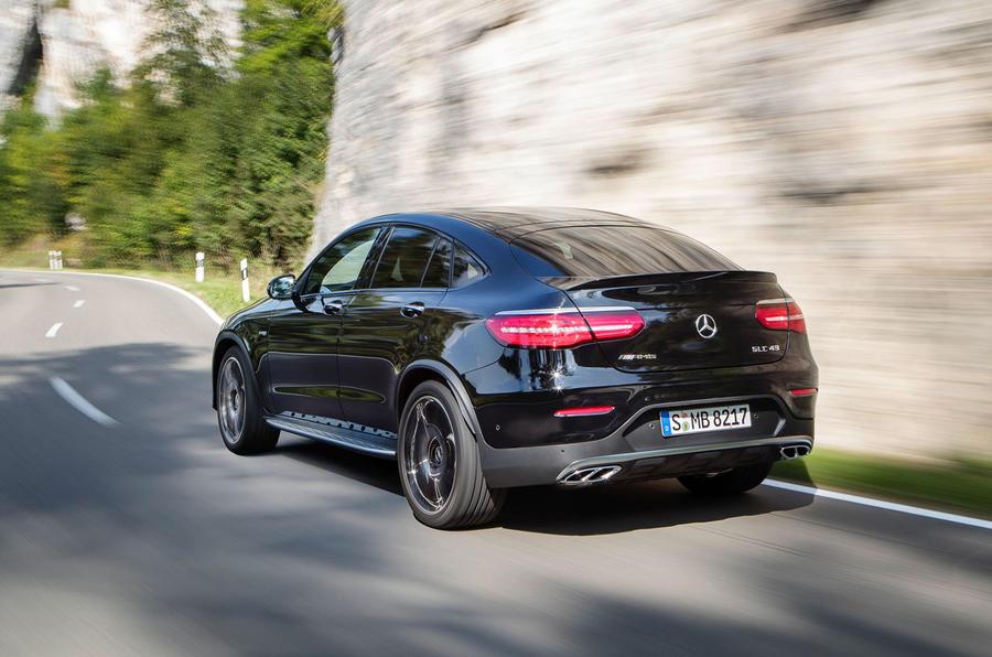 Mercedes-AMG GLC 43 Coupé revealed