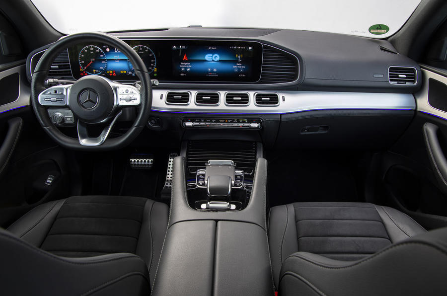 2020 Mercedes-Benz GLE 350de interior