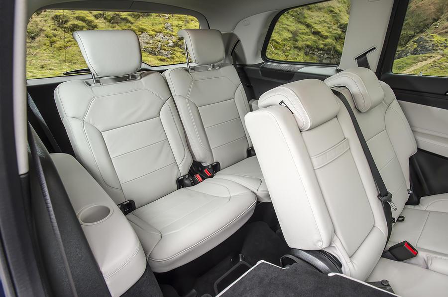 Mercedes GLS 350 d third row seats