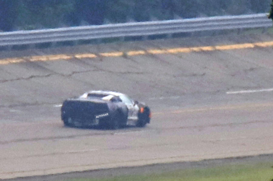 Mid-engined Chevrolet Corvette C8 spotted testing | Autocar