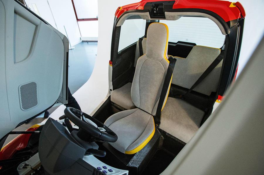 Gordon Murray Shell car