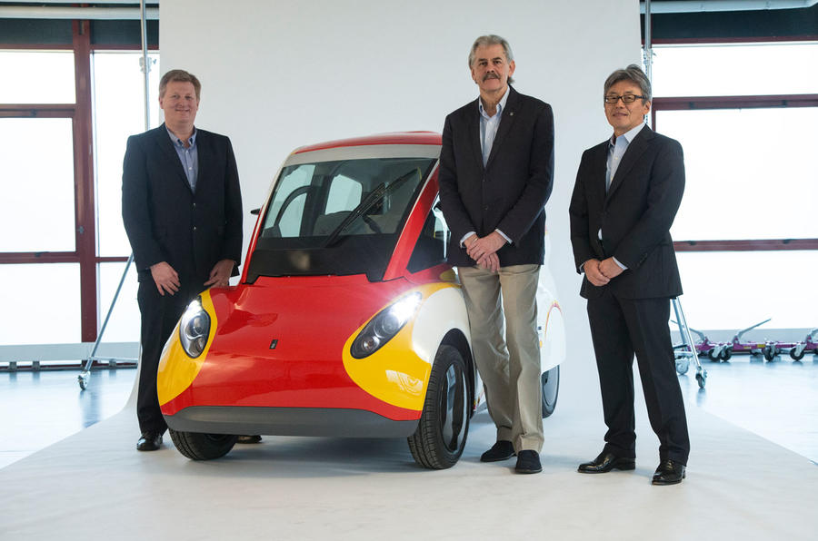 Gordon Murray Shell car
