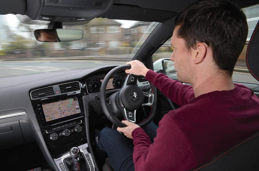 VW Golf GTI vs Hundai i30 N Mark driving
