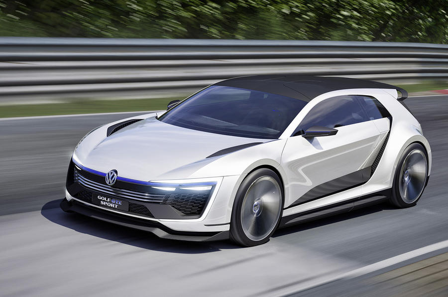 volkswagen golf gte sport concept unveiled at w rthersee