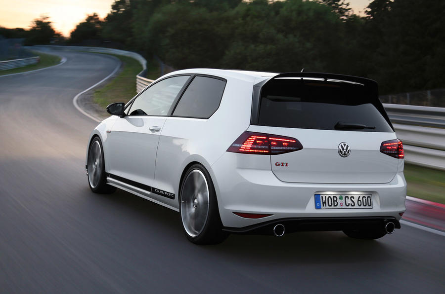 volkswagen launches golf gti clubsport edition 40 autocar. Black Bedroom Furniture Sets. Home Design Ideas