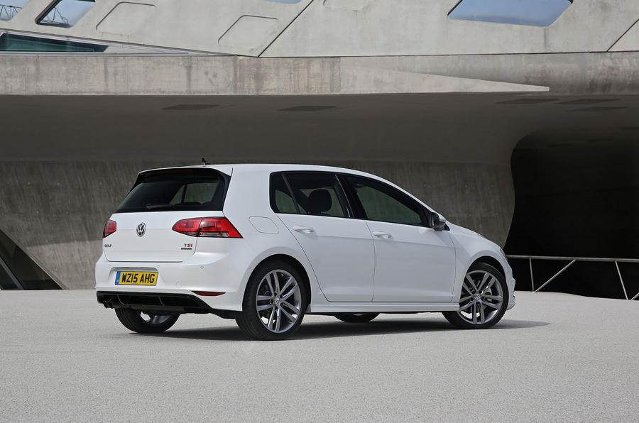 Volkswagen Golf R-Line rear