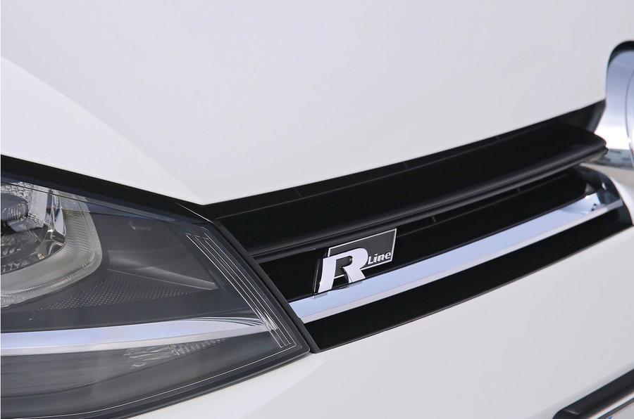 Volkswgen R-Line badging