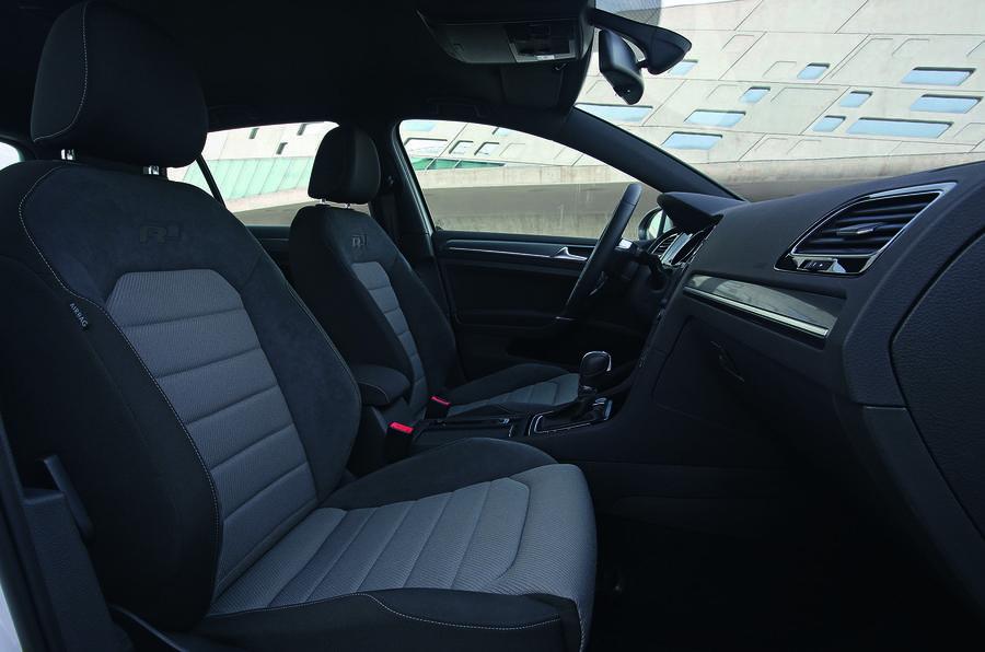 Volkswagen Golf R-Line interior