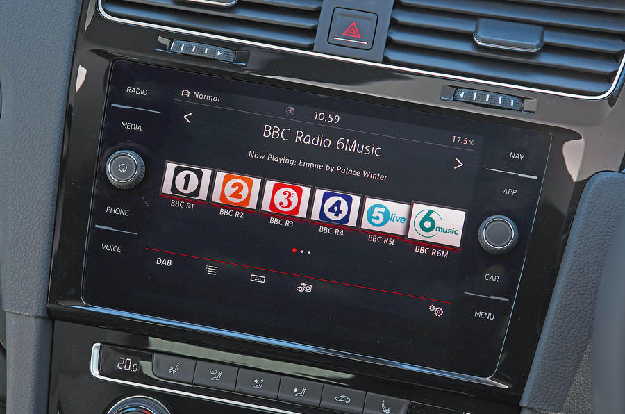 VW Golf GTI longterm review infotainment system
