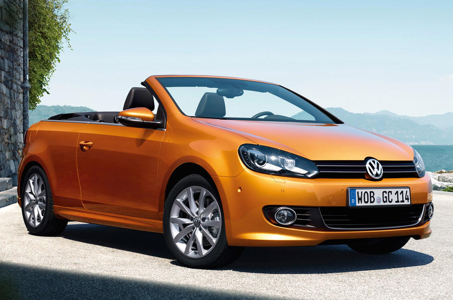 Volkswagen Golf Cabriolet axed from UK lineup