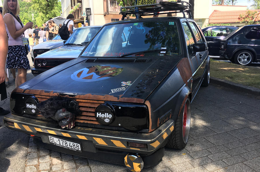 Volkswagen Golf GTI Mk2 rat mod Worthersee
