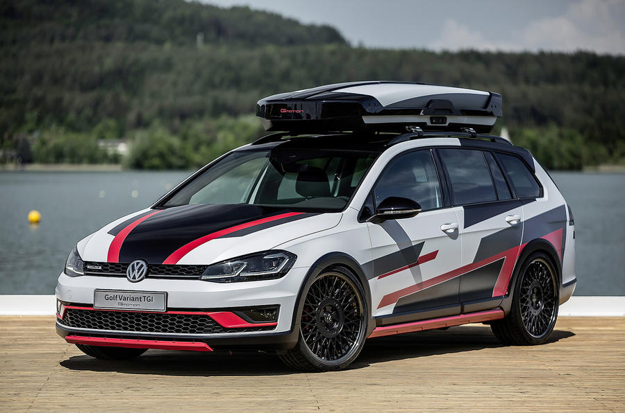 Volkswagen introduced a 290-horsepower version of the hatchback Golf GTI