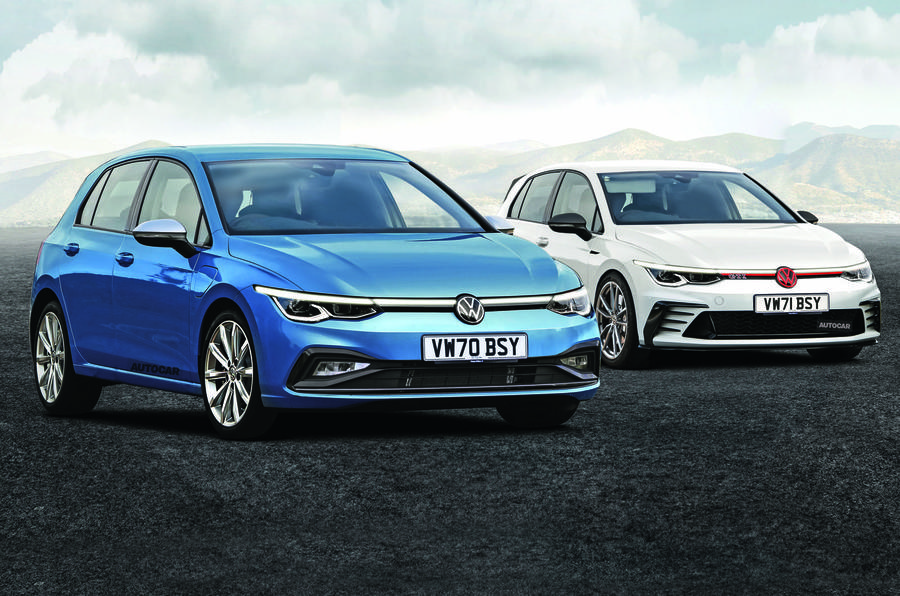 new volkswagen golf to feature class leading technology. Black Bedroom Furniture Sets. Home Design Ideas