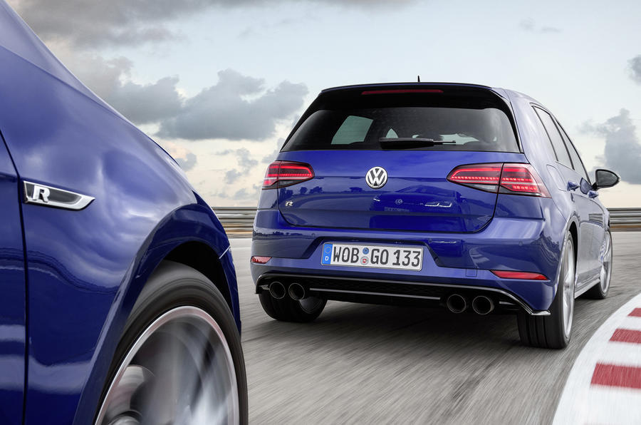 Volkswagen Golf R gains new track-focused Performance Pack