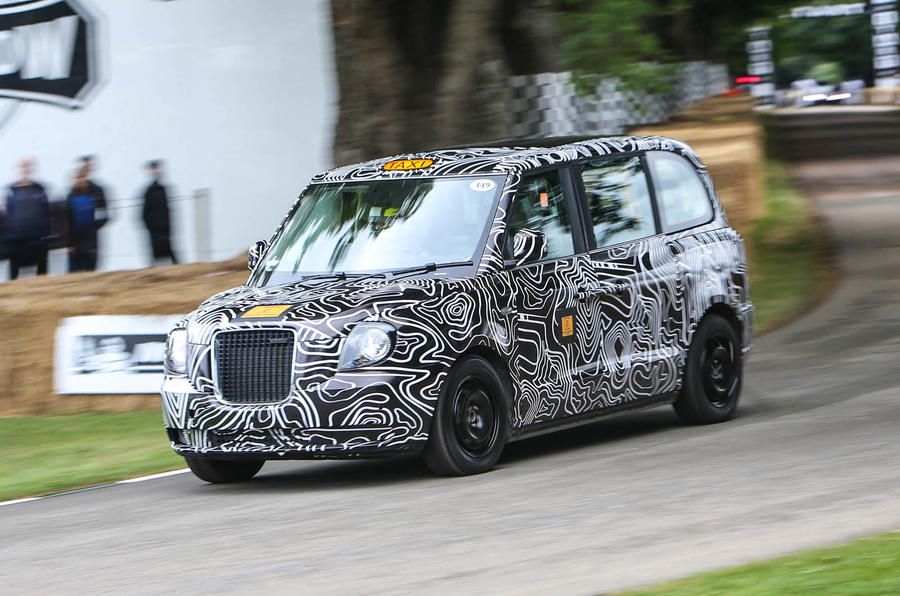 LONDON TAXI COMPANY ELECTRIC TX5