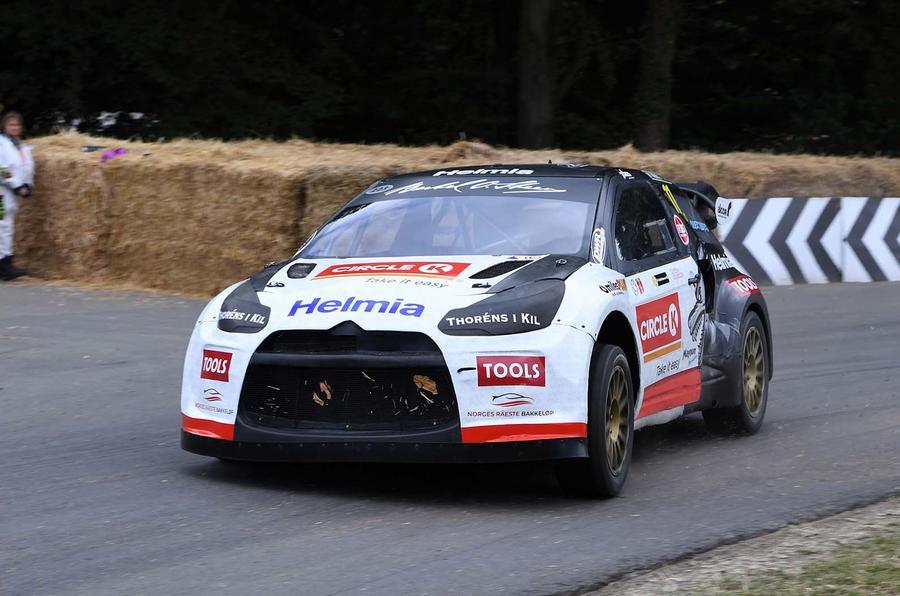 Citroen DS3 WRC car