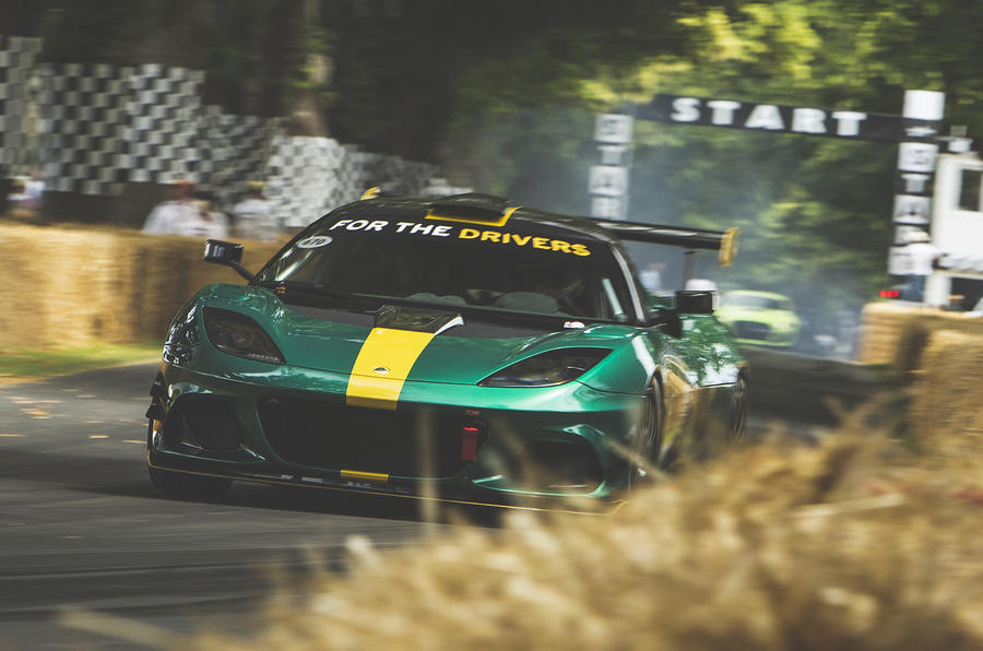 Lotus Evora GT4 concept at Goodwood Festival of Speed 2019
