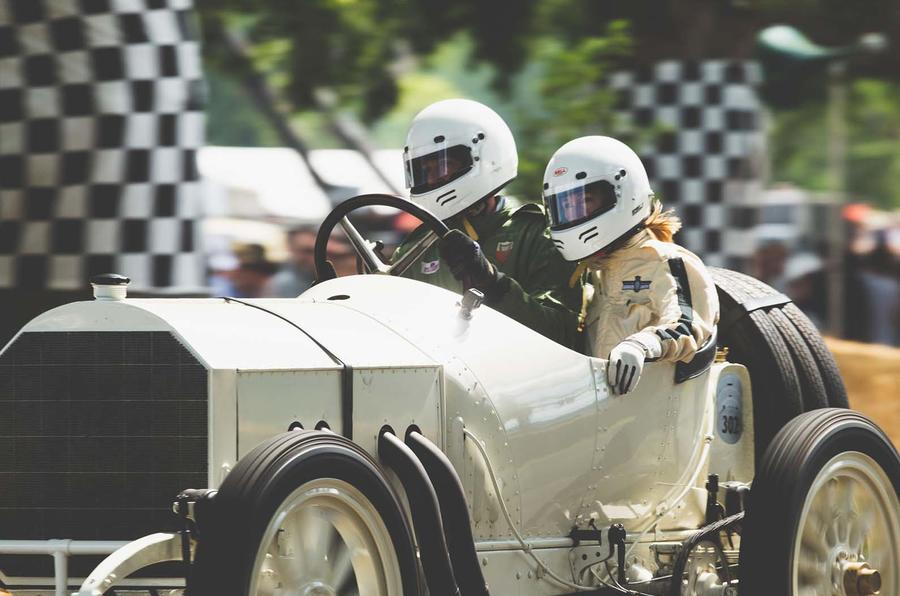 Pre-war racer at Goodwood Festival of Speed 2019