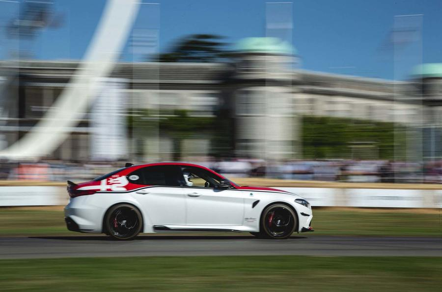 Alfa Romeo Giulia Racing Edition at Goodwood Festival of Speed 2019