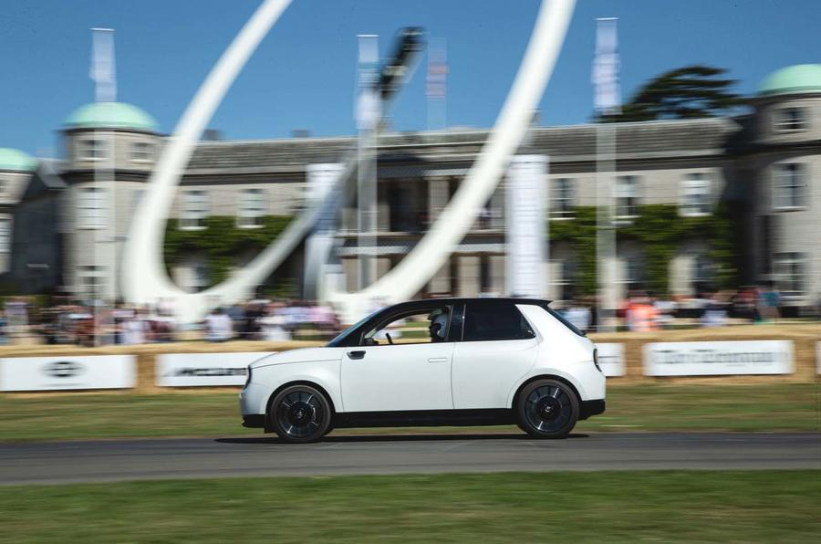 Honda E prototype at Goodwood Festival of Speed 2019