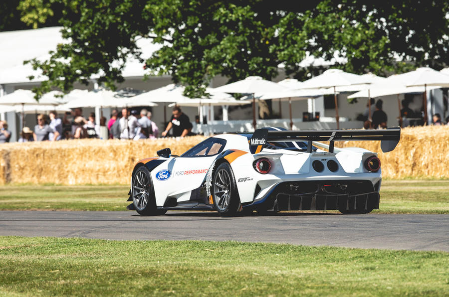 Ford GT MK II at Goodwood 2019 - rear