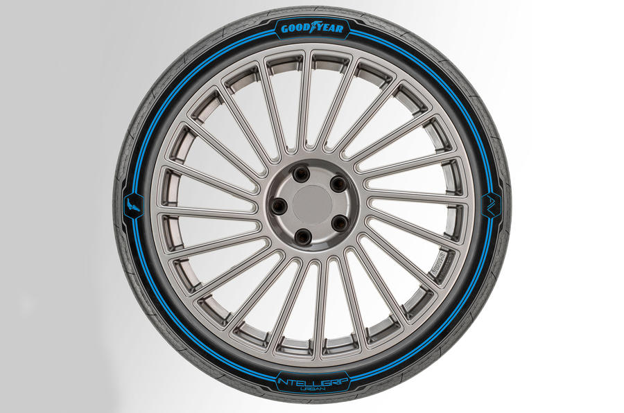 Goodyear Eagle 360 Urban tyre revealed with artificial intelligence