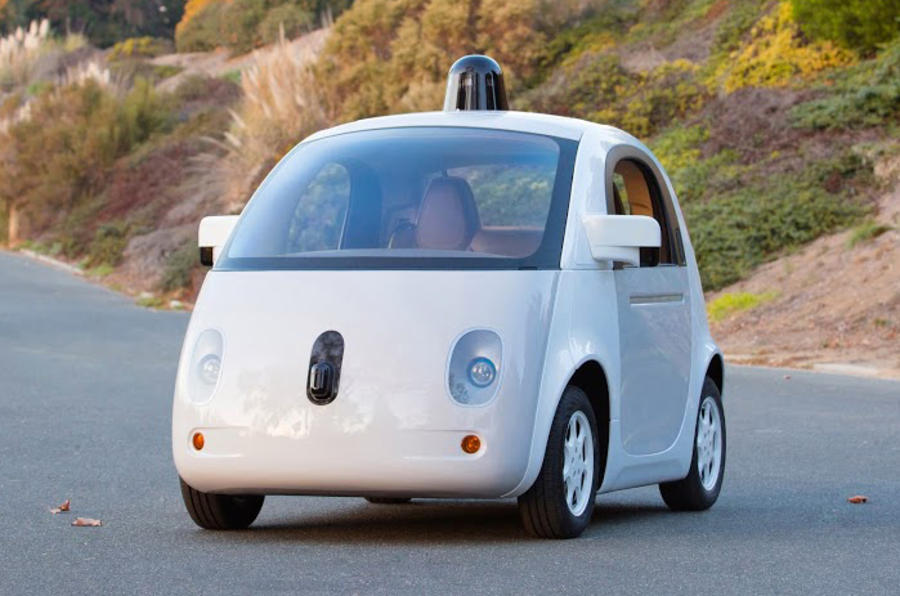 Google car revealed