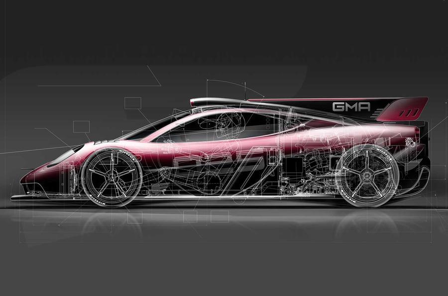 Ex-F1 designer Murray releases image of Brabham-inspired T.50 supercar