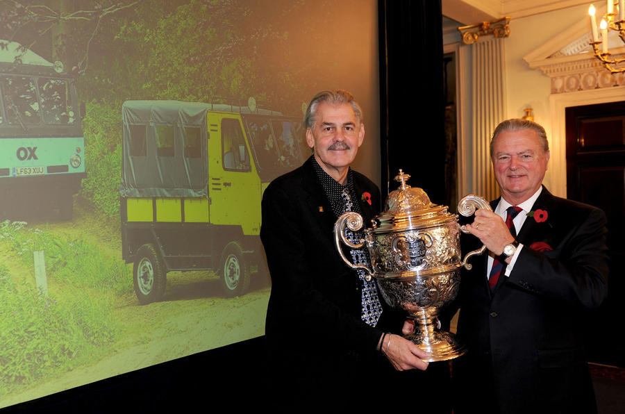 Famed designer Gordon Murray wins Dewar Trophy
