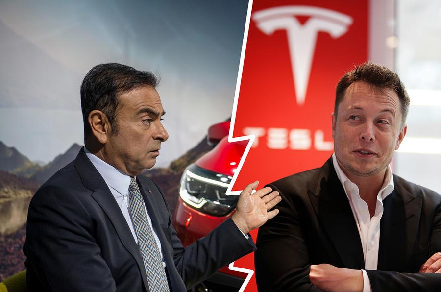Carlos Ghosn Elon Musk