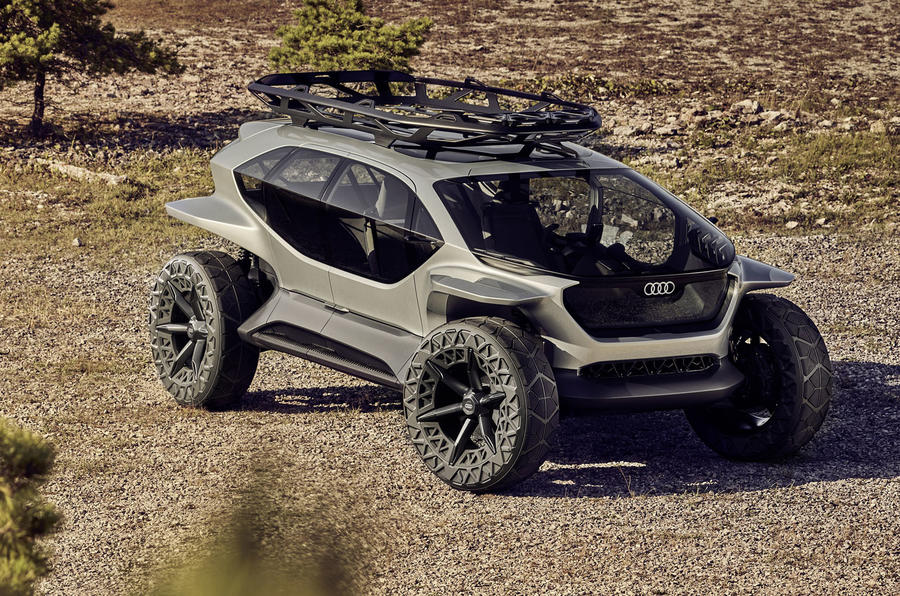 Audi AI:Trail Concept Is A Crazy Off-Roader From The Future