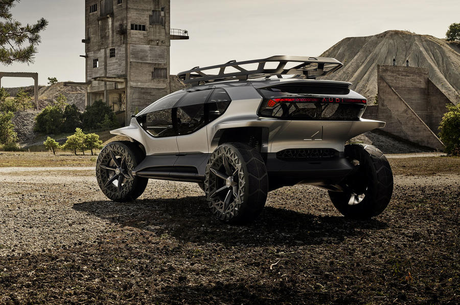 Audi AI:TRAIL quattro is the off-roader of the future
