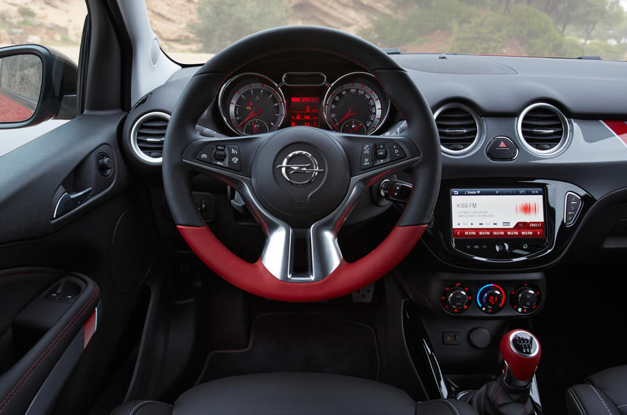 Vauxhall Adam Grand Slam dashboard