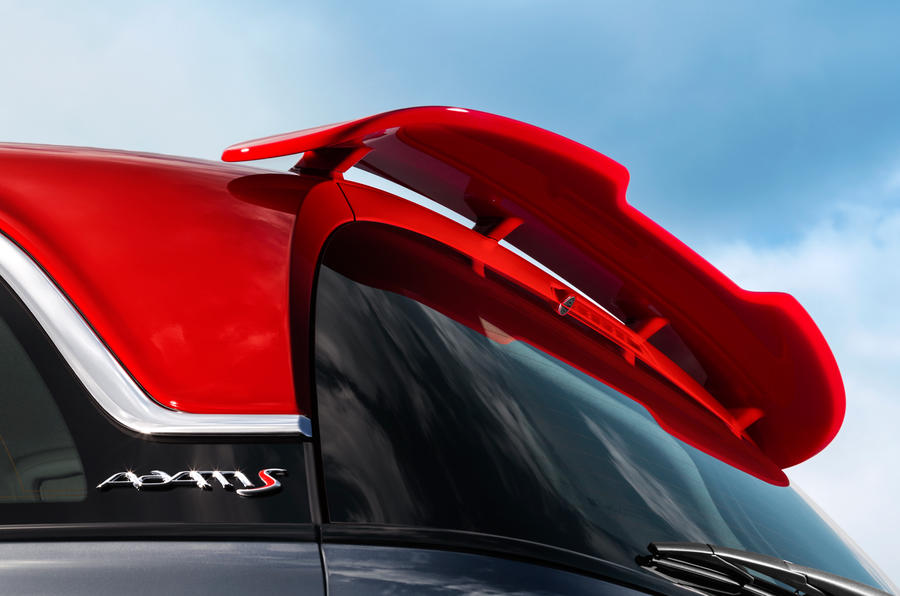 Vauxhall Adam Grand Slam rear spoiler