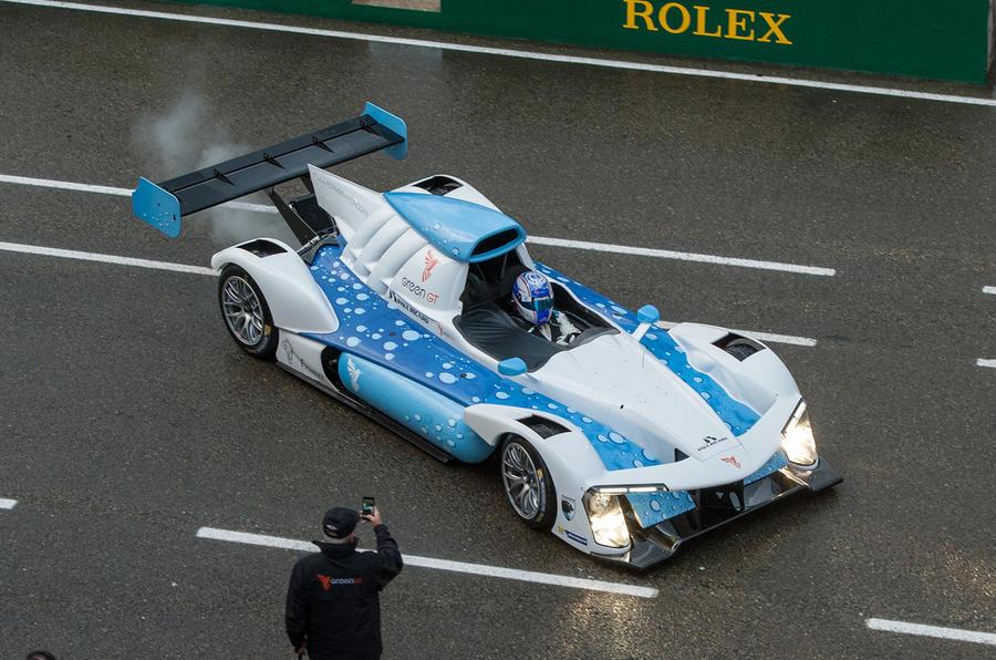Green GT H2 hydrogen racing car makes UK debut at Goodwood | Autocar
