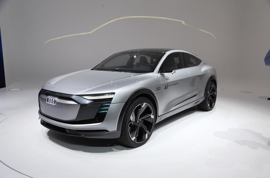 Audi Elaine concept Frankfurt motor show