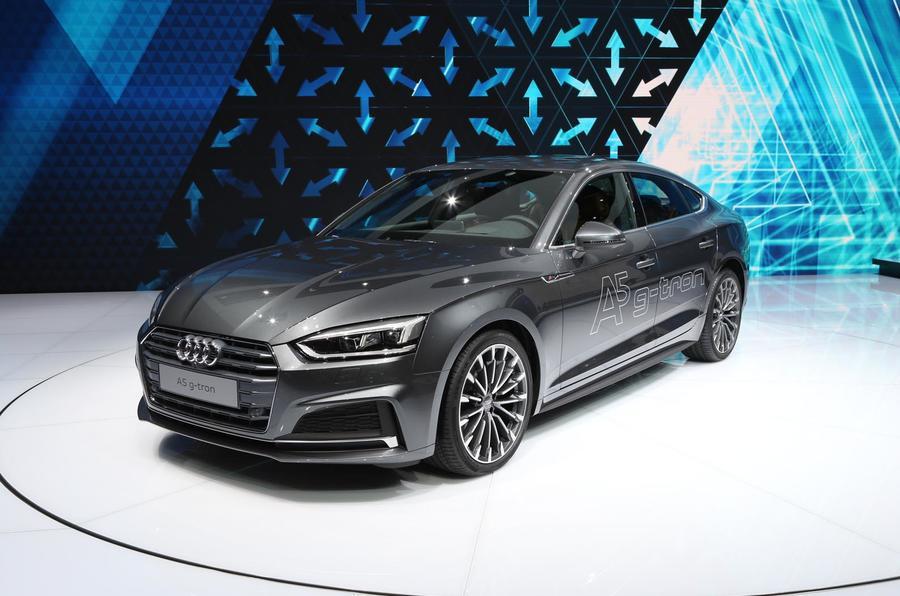 Audi A5 Sportback G-Tron Frankfurt motor show