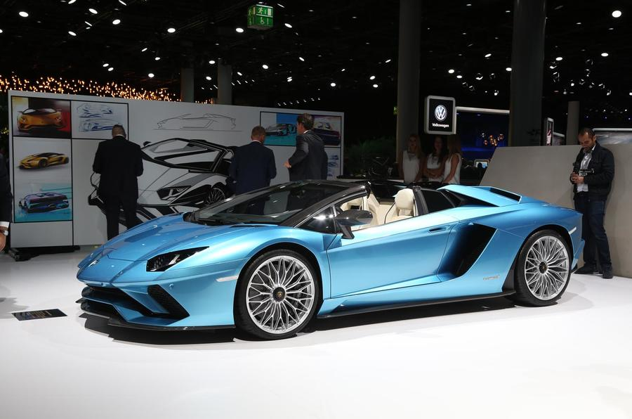 Lamborghini Aventador S Roadster Frankfurt motor show